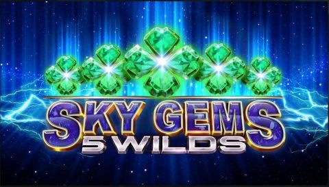 Sky Gems 5 Wilds Real Slot made by