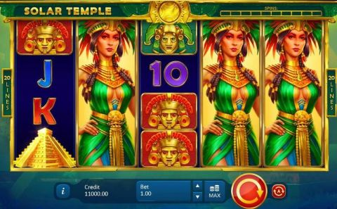 Solar Temple Real Slot made by Playson