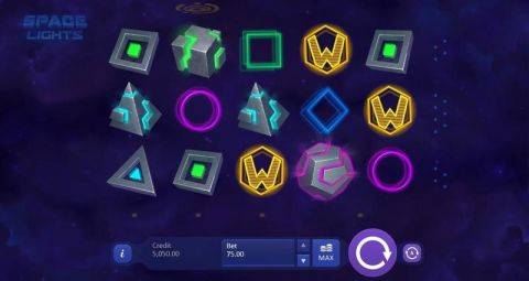 Space Lights Real Slot made by Playson