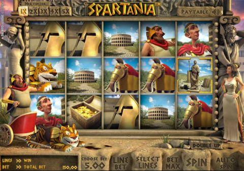 Spartania Real Slot made by Sheriff Gaming