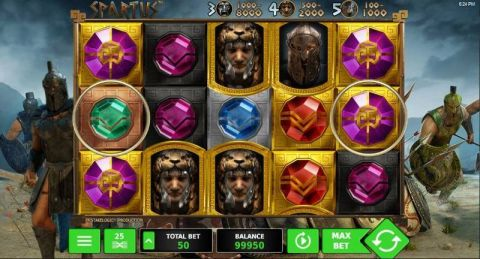 Spartus Real Slot made by StakeLogic
