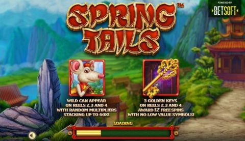 Spring Tails Real Slot made by BetSoft