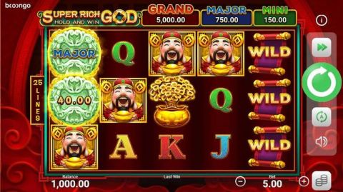 Super Rich God: Hold and Win Real Slot made by Booongo