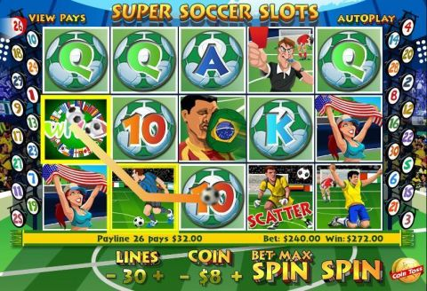 SUper Soccer Slots Real Slot made by WGS Technology
