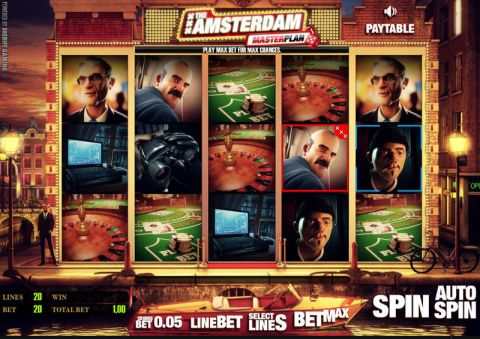 The Amsterdam Masterplan Real Slot made by Sheriff Gaming