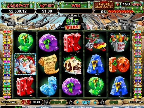 The Elf Wars Real Slot made by RTG