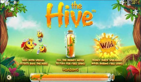 The Hive Real Slot made by BetSoft