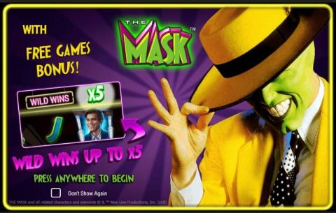 The Mask Real Slot made by NextGen Gaming