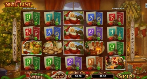 The Nice List Real Slot made by RTG