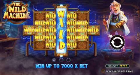 The Wild Machine Real Slot made by Pragmatic Play