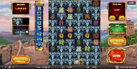 Tiger and Dragon Real Slot made by