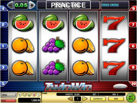 Twin Win Real Slot made by GTECH