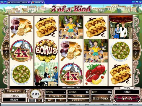 Voila Real Slot made by Microgaming