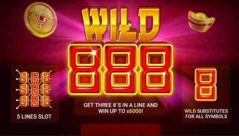 Wild 888 Real Slot made by Booongo