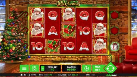 Wild Christmas Real Slot made by StakeLogic