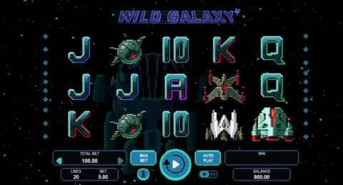 Wild Galaxy Real Slot made by Booongo