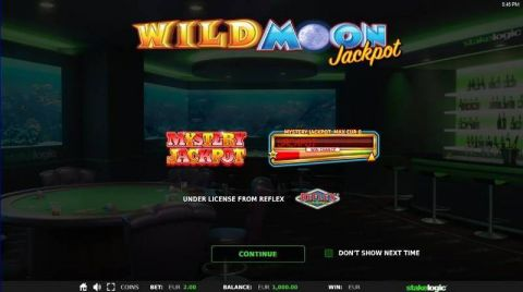 Wild Moon Jackpot Real Slot made by
