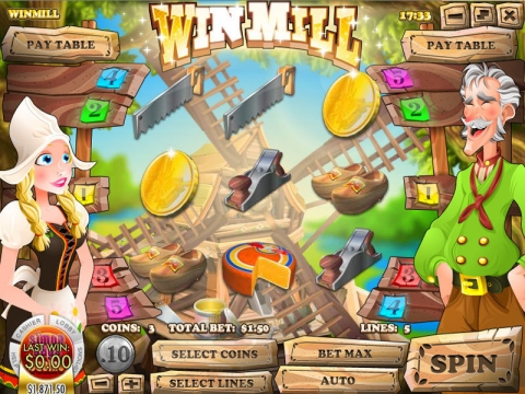 Win Mill Real Slot made by Rival