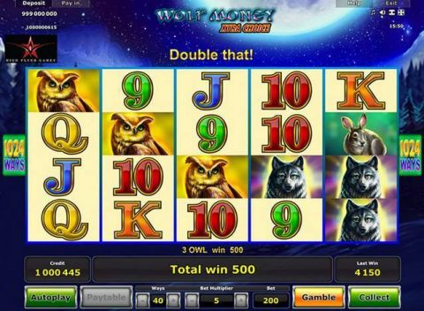 Wolf Money Xtra Choice Real Slot made by