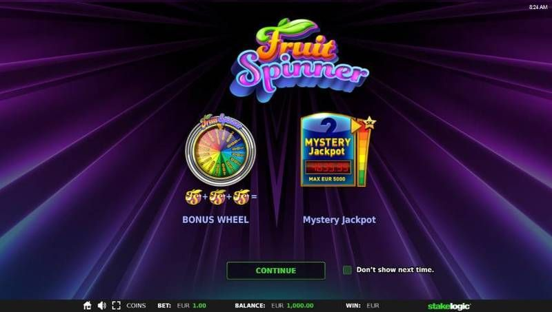 Fruit Spinner Real Money Slot made by