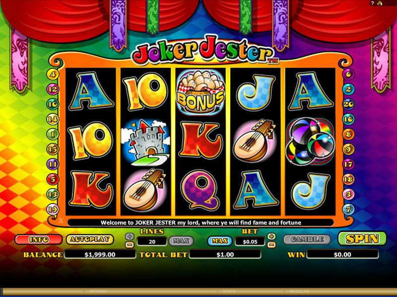 Joker Jester Real Money Slot made by