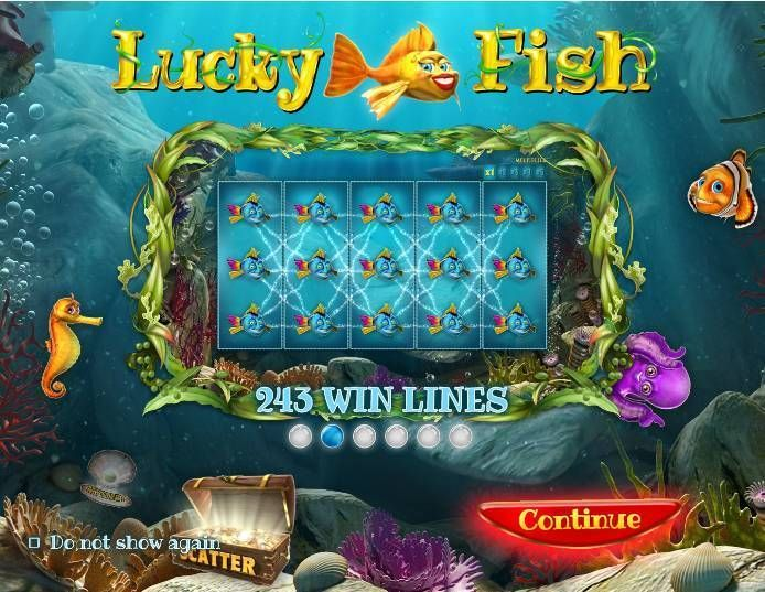 Lucky Fish Real Money Slot made by