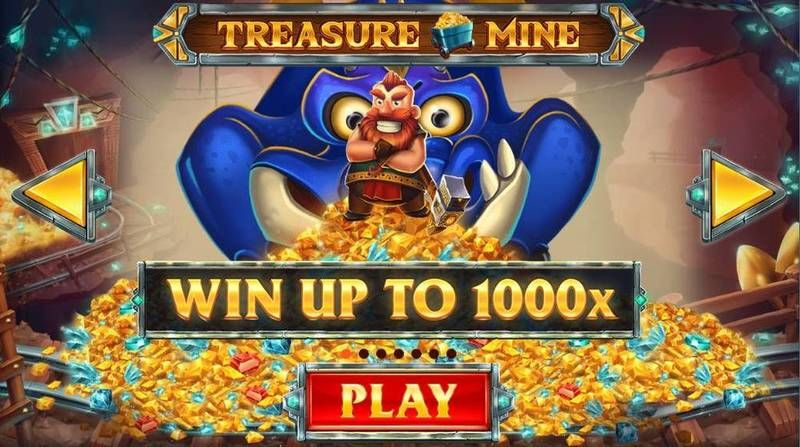Treasure Mine Real Money Slot made by Red Tiger Gaming